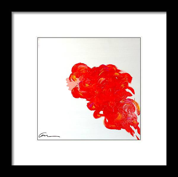 Deco Framed Print featuring the painting Young And Explosive Edition II by Mac Worthington