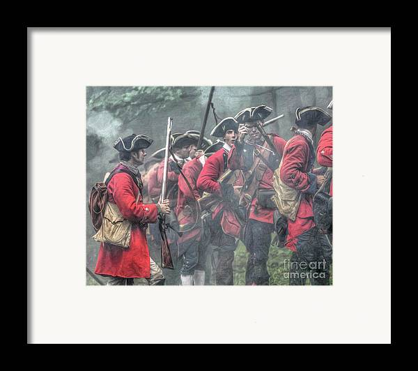 Battle Framed Print featuring the digital art Young Lions French And Indian War by Randy Steele