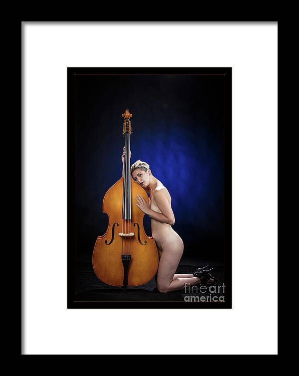 Nude Framed Print featuring the photograph Young Woman Nude 1729.195 by Kendree Miller