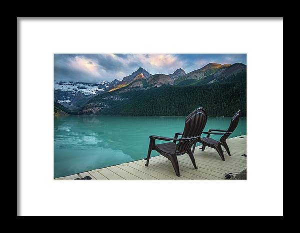 Banff Framed Print featuring the photograph Your Next Vacation Spot by William Freebilly photography