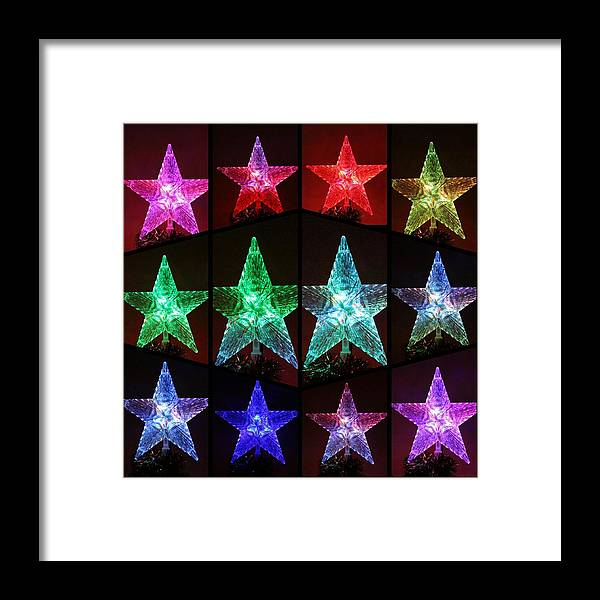 Star Framed Print featuring the photograph You're A Star by Denise Keegan Frawley