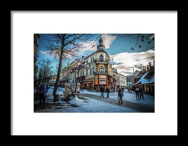 Zakopane Framed Print featuring the photograph Zakopane-03 by Richard Wolski