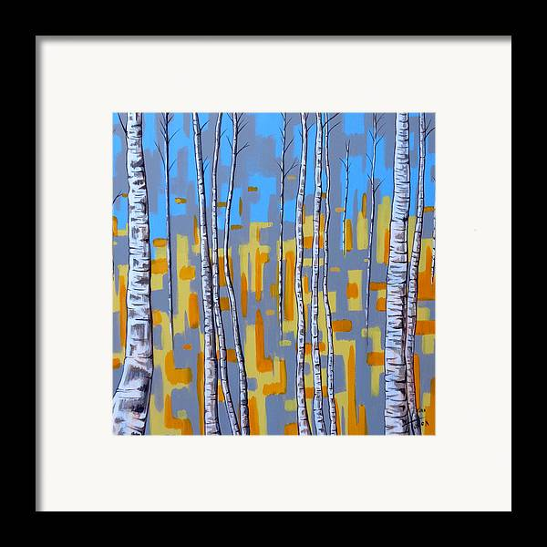 Abstract Framed Print featuring the painting Zhivago by Tara Hutton