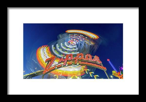 Zipper Framed Print featuring the photograph Zipper by Stephen Stookey