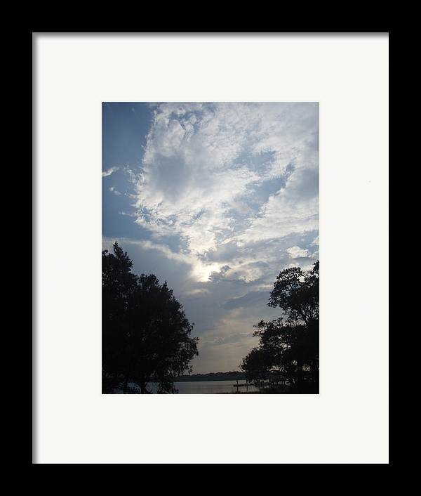 Sky Framed Print featuring the photograph Zooey's Sky by Jessica Breen