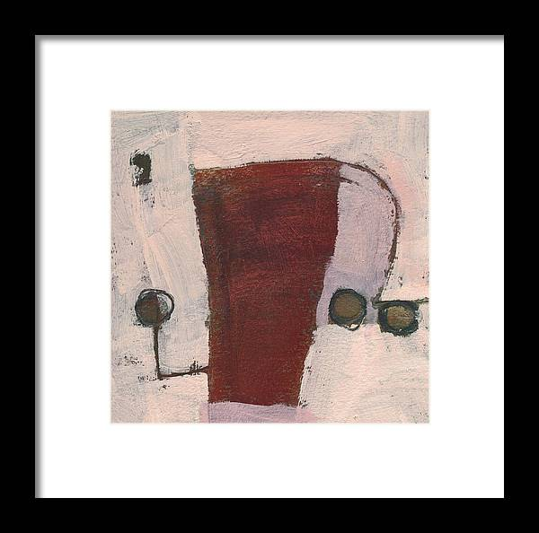 Abstract Framed Print featuring the painting Zydeco 1 by Jean Beal