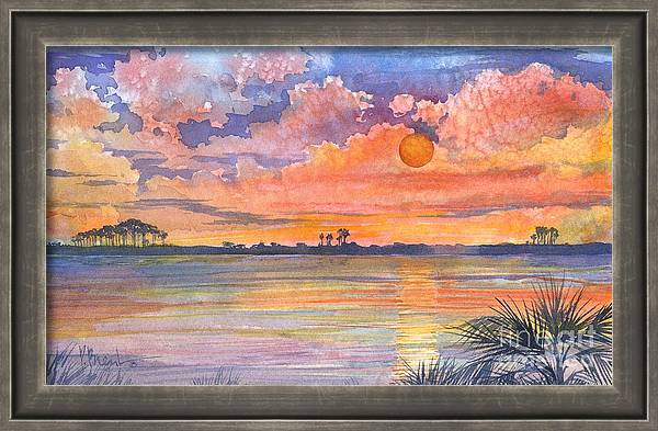 05131 - Tyndall Sunset by Paul Brent