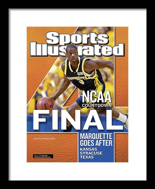 Hubert H. Humphrey Metrodome Framed Print featuring the photograph 2003 Ncaa Final Four Countdown Sports Illustrated Cover by Sports Illustrated