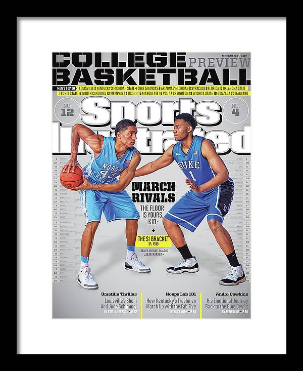 Magazine Cover Framed Print featuring the photograph 2013-14 College Basketball Preview Issue Sports Illustrated Cover by Sports Illustrated