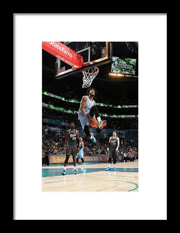 Nba Pro Basketball Framed Print featuring the photograph 2019 Mtn Dew Ice Rising Stars by Nathaniel S. Butler