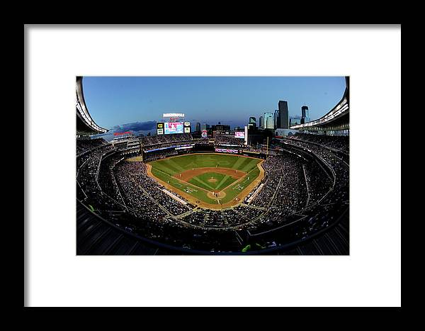 American League Baseball Framed Print featuring the photograph 85th Mlb All Star Game by Hannah Foslien