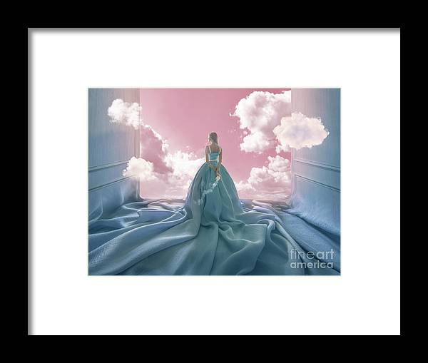 People Framed Print featuring the photograph Ascesis by Vizerskaya