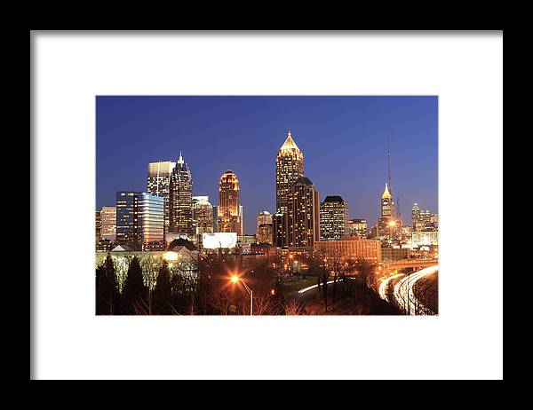 Atlanta Framed Print featuring the photograph Atlanta, Georgia by Jumper