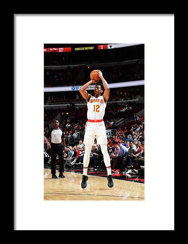 Chicago Bulls Framed Print featuring the photograph Atlanta Hawks V Chicago Bulls by Scott Cunningham