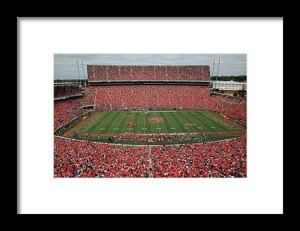 Auburn University Framed Print featuring the photograph Auburn V Clemson by Streeter Lecka