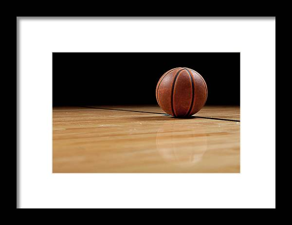 Ball Framed Print featuring the photograph Basketball by Garymilner