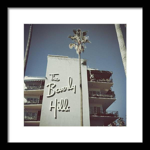 1950-1959 Framed Print featuring the photograph Beverly Hills Hotel by Slim Aarons