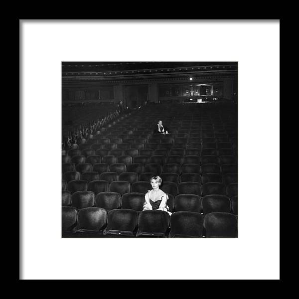 People Framed Print featuring the photograph Brigitte Bardot by Hulton Archive