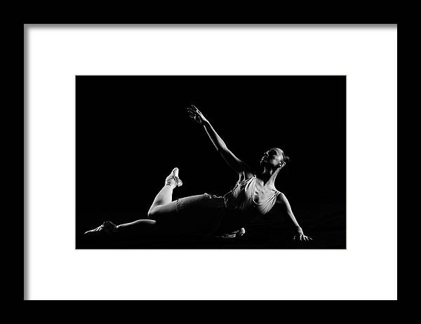 Expertise Framed Print featuring the photograph Classical Dancer by Oleg66