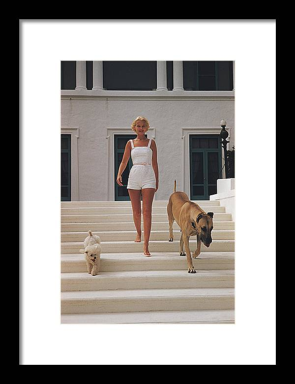People Framed Print featuring the photograph C.z. Guest by Slim Aarons