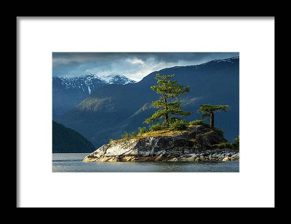Scenics Framed Print featuring the photograph Desolation Sound, Bc, Canada by Paul Souders