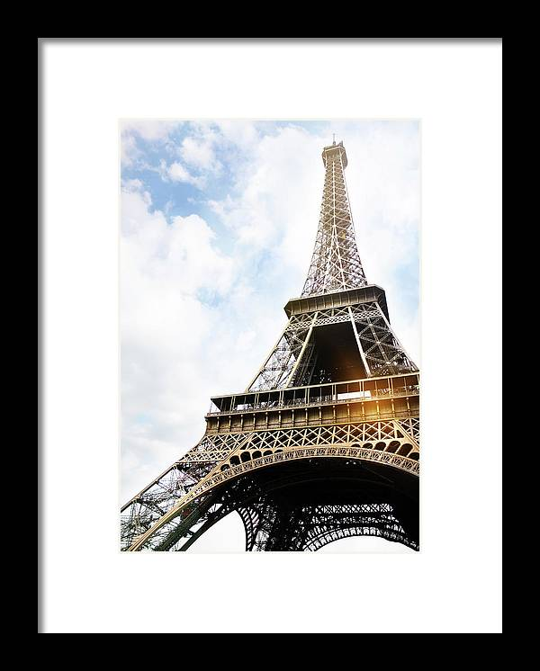 Eiffel Tower Framed Print By Aleksandarnakic