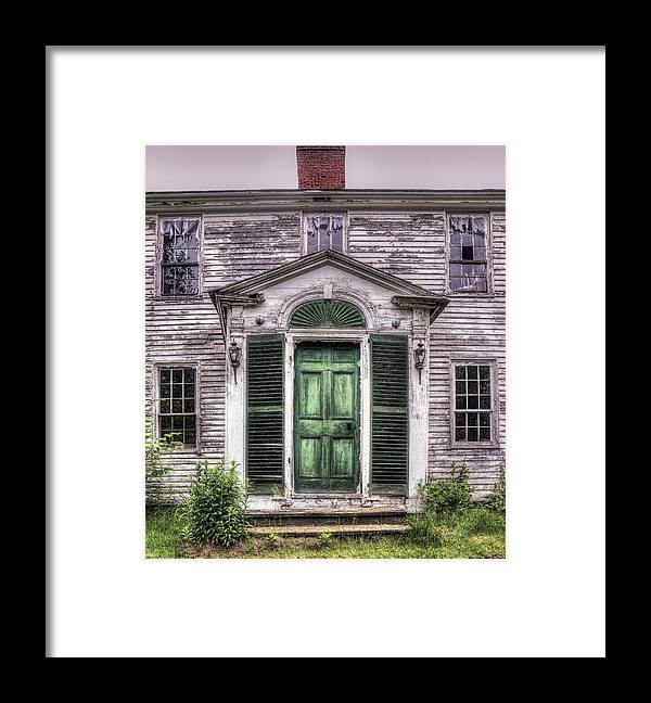 Abandoned Framed Print featuring the photograph Emotions Within by Richard Bean