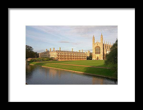 Shadow Framed Print featuring the photograph England, Cambridge, Cambridge by Andrew Holt