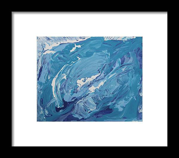 Water Framed Print featuring the photograph Formless Collection edition 4 by Sonye Locksmith