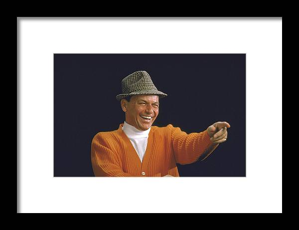 Timeincown Framed Print featuring the photograph Frank Sinatra by John Dominis
