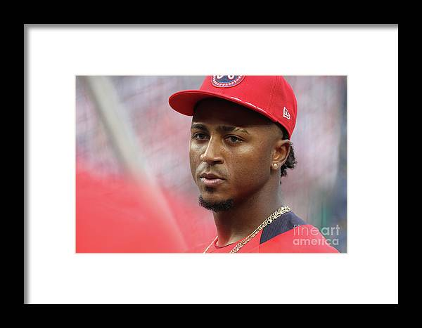 People Framed Print featuring the photograph Gatorade All-star Workout Day by Patrick Smith