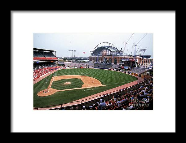 Wisconsin Framed Print featuring the photograph General View by Jonathan Daniel