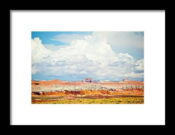 Scenics Framed Print featuring the photograph Goblin Valley State Park by Marco Maccarini