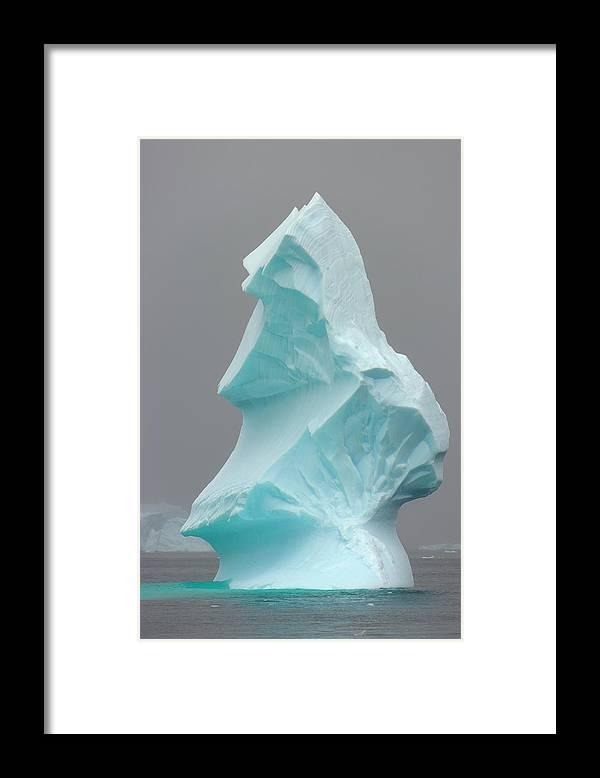 Scenics Framed Print featuring the photograph Iceberg, Antarctic Peninsula by Eastcott Momatiuk