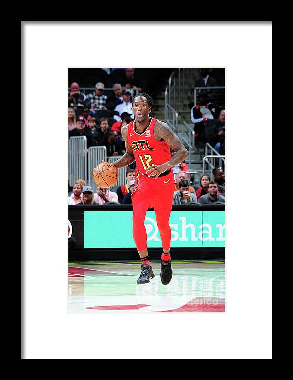 Atlanta Framed Print featuring the photograph Indiana Pacers V Atlanta Hawks by Scott Cunningham