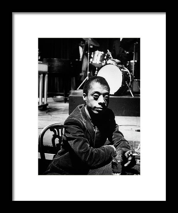 Timeincown Framed Print featuring the photograph James Baldwin by Carl Mydans