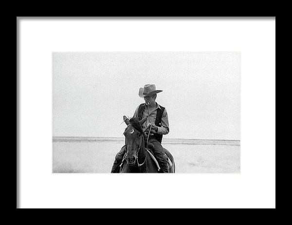 James Dean - Born 1931 Framed Print featuring the photograph James Dean by Allan Grant