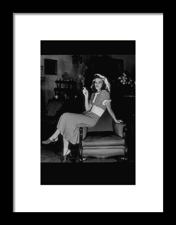 Timeincown Framed Print featuring the photograph Katharine Hepburn by Alfred Eisenstaedt