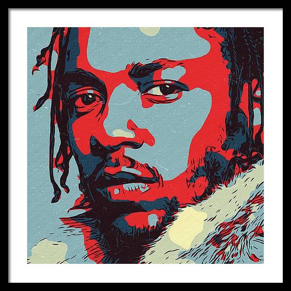Kendrick Lamar Artwork by Taoteching Art