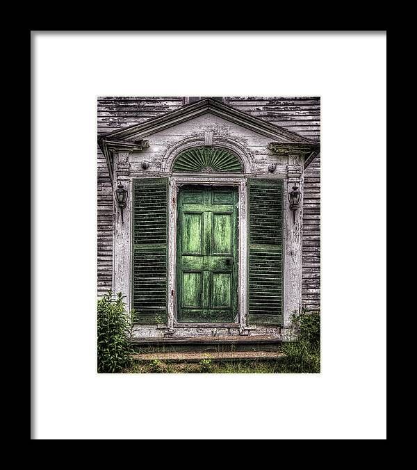 Architecture Framed Print featuring the photograph Knock and It Shall Be Open by Richard Bean