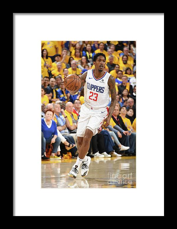 Playoffs Framed Print featuring the photograph La Clippers V Golden State Warriors - by Andrew D. Bernstein