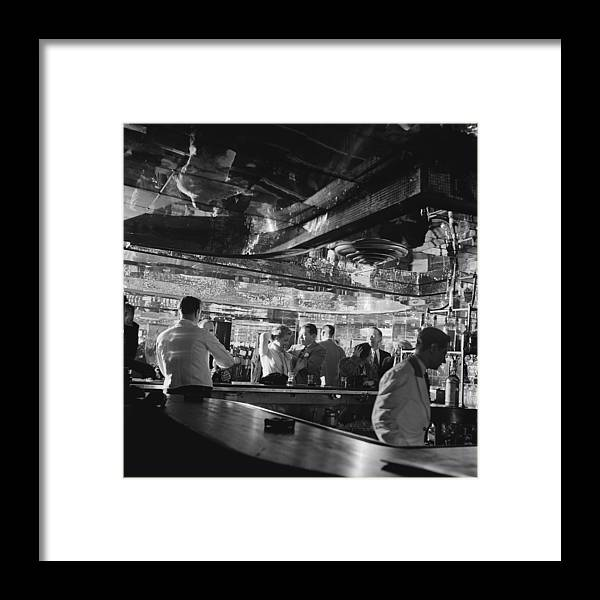 Latin Quarter Framed Print featuring the photograph Latin Quarter Bar by Graphic House