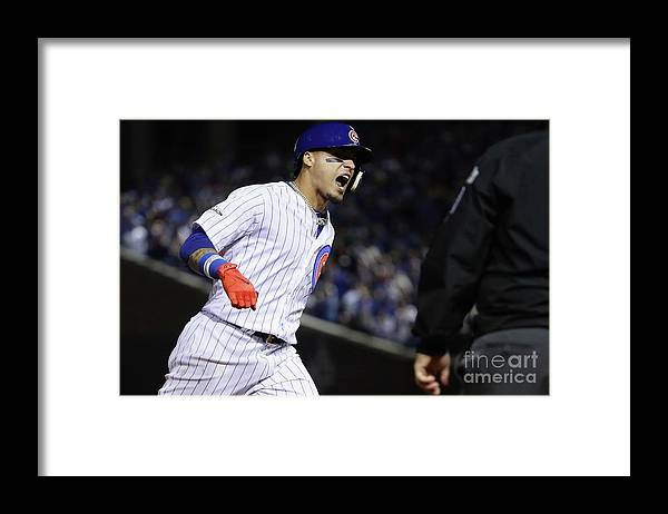 Three Quarter Length Framed Print featuring the photograph League Championship Series - Los by Jonathan Daniel