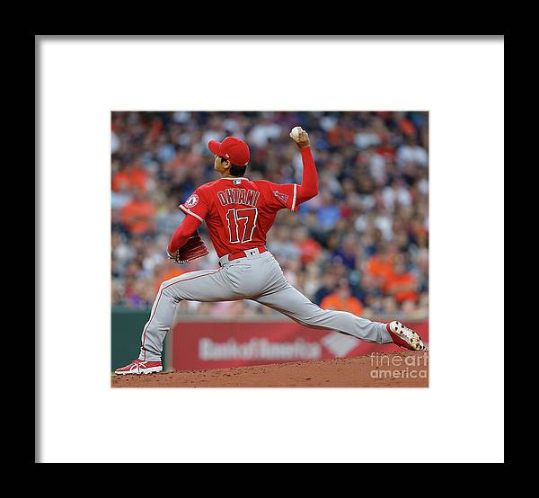Second Inning Framed Print featuring the photograph Los Angeles Angels Of Anaheim V by Bob Levey