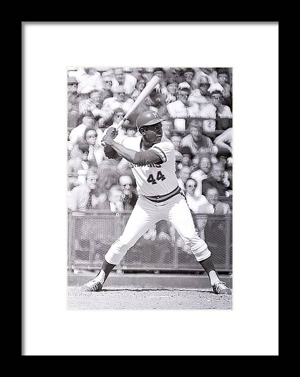 American League Baseball Framed Print featuring the photograph Milwaukee Brewers by Ronald C. Modra/sports Imagery