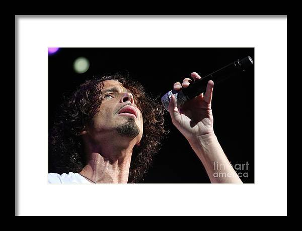 Musician Chris Cornell by Concert Photos