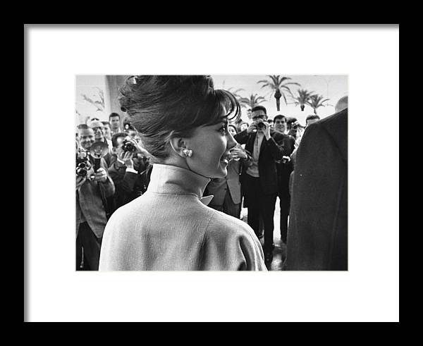 Film Festival Framed Print featuring the photograph Natalie Wood by Paul Schutzer