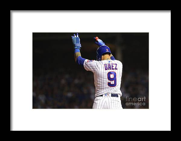 Playoffs Framed Print featuring the photograph National League Wild Card Game Colorado by Alex Trautwig