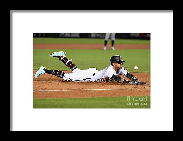 Playoffs Framed Print featuring the photograph National League Wild Card Game - by Norm Hall