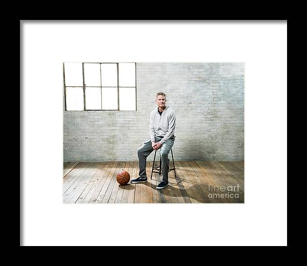 Nba Pro Basketball Framed Print featuring the photograph Nba All-star Portraits 2017 by Nathaniel S. Butler